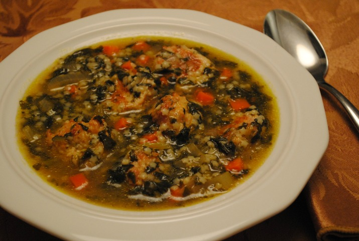 my versions of ina garten's recipes for seafood stew and italian